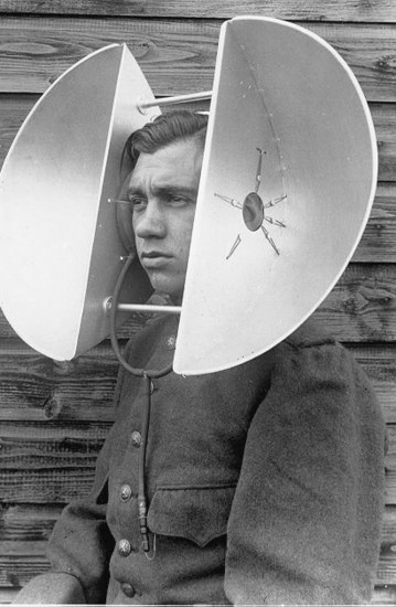 head mounted listening device
