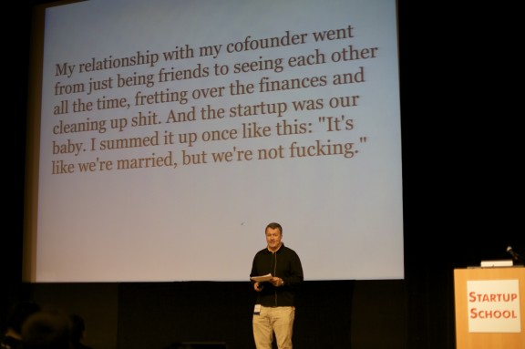 Paul Graham, YC, on cofounders