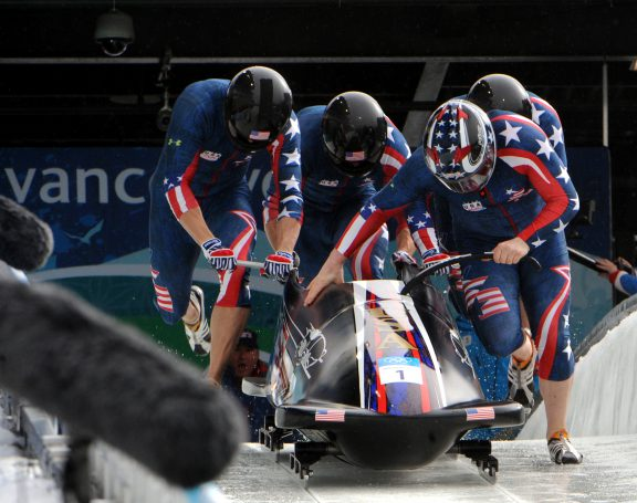 U.S. Army World Class Athlete Program bobsledder
