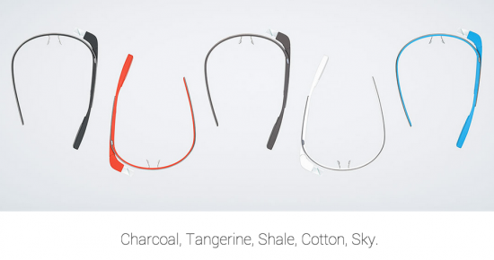Google Glass - 5 colors