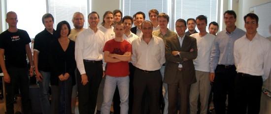 Team Skype, including investors