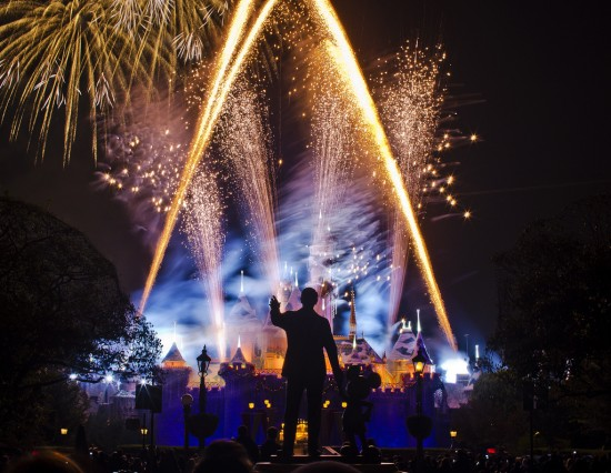 Walt Disney, Mickey Mouse and Fireworks