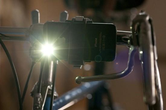 The Handleband bike light