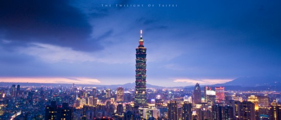 Twilight of Taipei