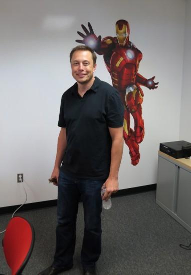Elon Musk -- Iron Man