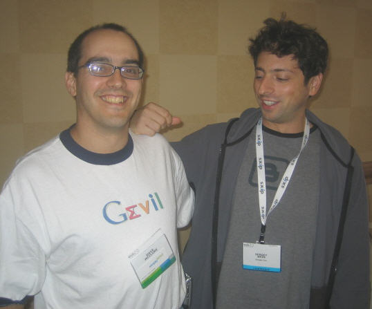 Don't be gevil - Dave McClure & Sergey Brin
