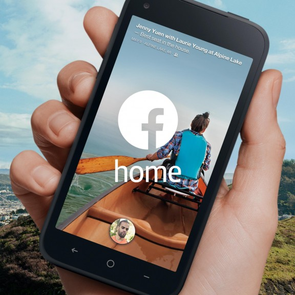 Facebook Home for Mobile