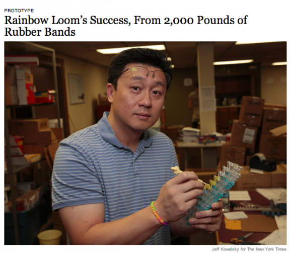 Cheong Choon Ng, Founder of Rainbow Loom