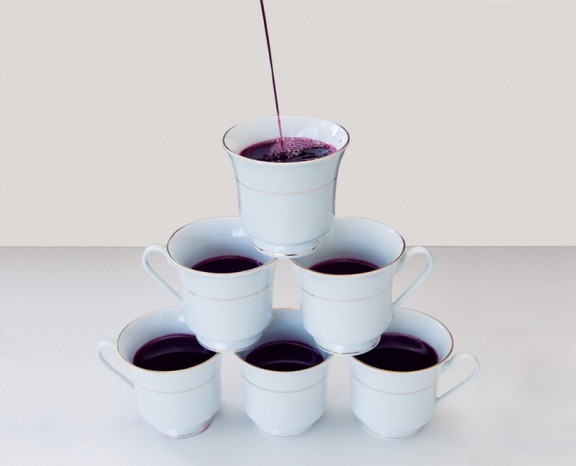 No wine in tea cup in Kansas