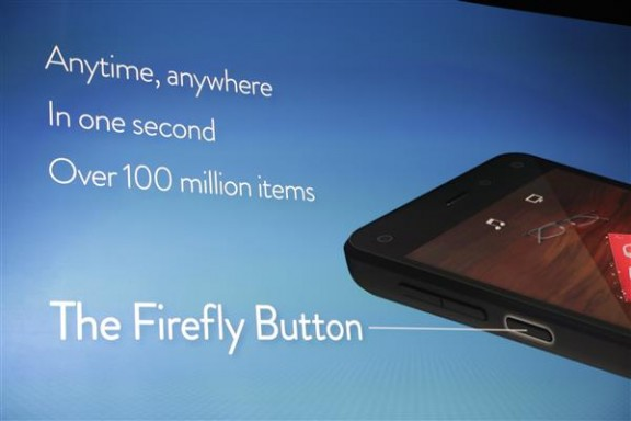 Fire Phone Firefly button