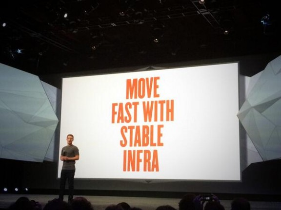 Move fast with stable infra