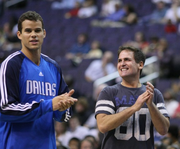 Kris Humphries and Mark Cuban