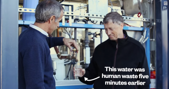 Bill Gates Test A New Machine That Turns Poop Into Clean Water