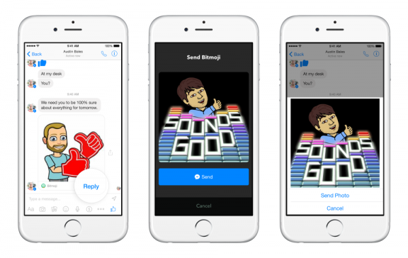 Facebook Messenger - Send Interactive Content