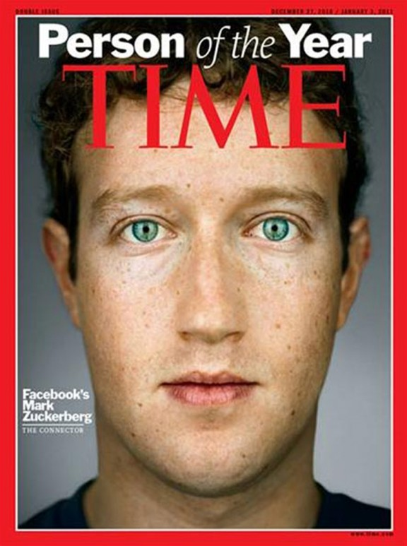 Mark Zuckerberg, Time Person of the Year