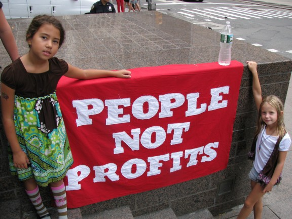 People, Not Profits