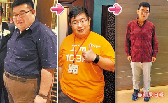 Amazing weight loss of Izero Lee, COO, KKBOX